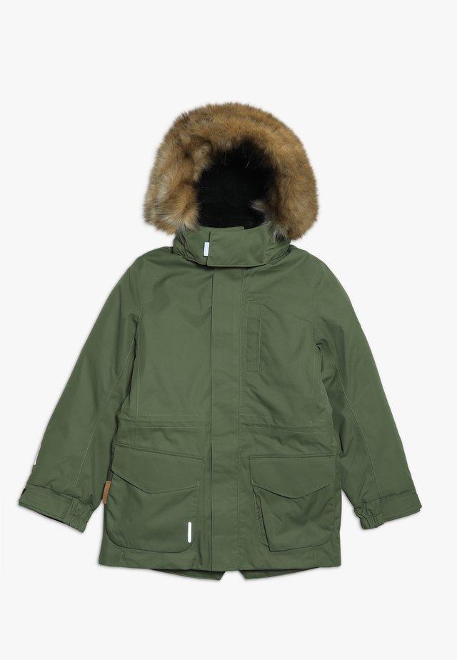 NAAPURI - Zimní bunda - khaki green