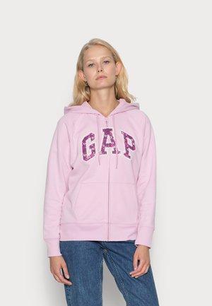 NOVELTY - Zip-up sweatshirt - butterfly lilac