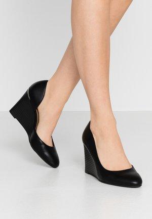 CAMPANIN - Høye hæler - black