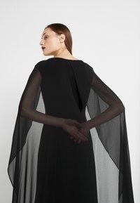 Lauren Ralph Lauren - CLASSIC LONG GOWN COMBO - Suknia balowa - black - 4