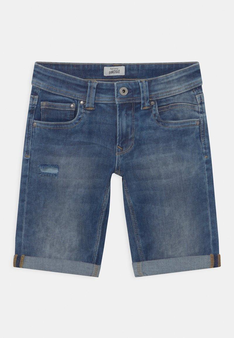 Pepe Jeans - TRACKER - Short en jean - blue denim