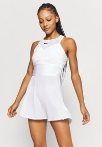 Nike Performance - MARIA DRESS - Sports dress - white/black - 3