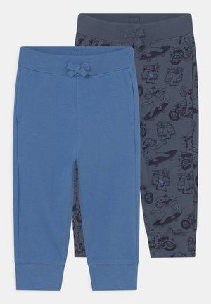 ORGANIC PANT 2 PACK  - Pantalones - blue