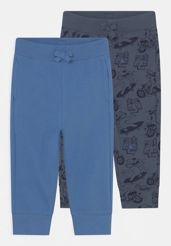 ORGANIC PANT 2 PACK  - Trousers - blue