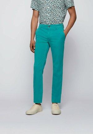 SCHINO - Chinos - turquoise