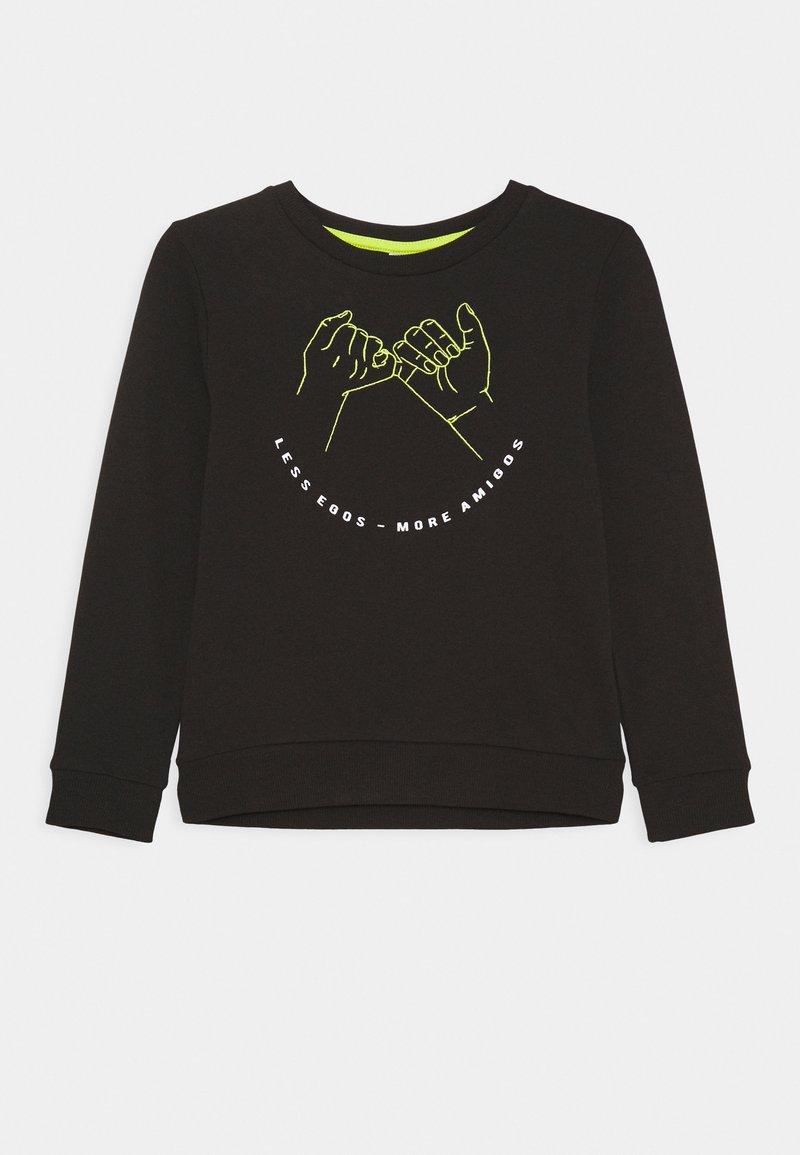 Name it - NKMLEXO LIGHT BOX  - Sweater - black