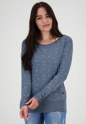 Print T-shirt - nightblue