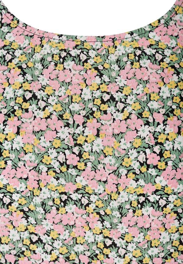 Zizzi Bluzka - pink/rÓżowy DGIX