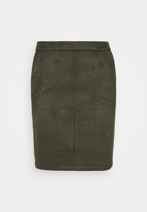 VIFADDY SKIRT - Jupe crayon - forest night
