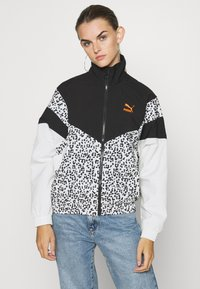 Puma - TRACK JACKET - Windbreaker - black - 0