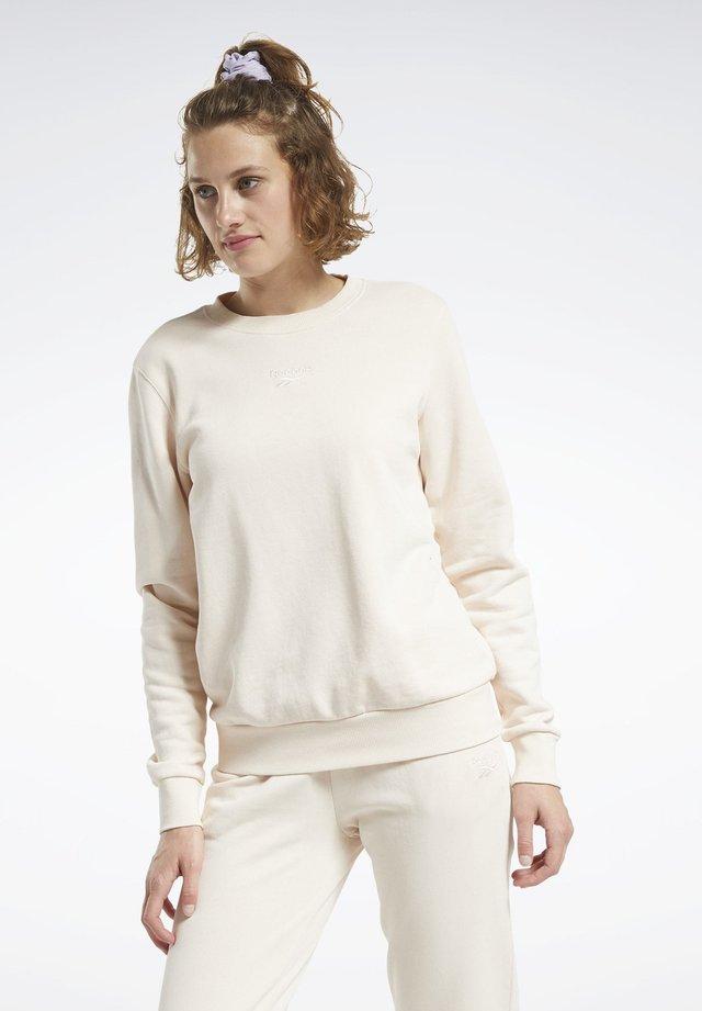 CLASSICS WASHED CREW SWEATSHIRT - Sweatshirt - pink