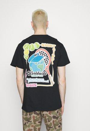 TENNIS - Print T-shirt - black