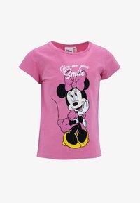 DeFacto - Print T-shirt - pink - 0