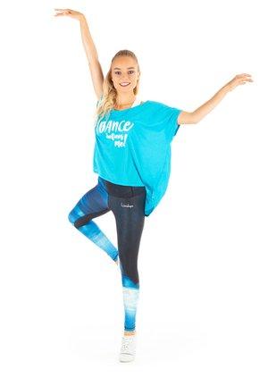 MCT017 ULTRA LIGHT - Print T-shirt - sky blue