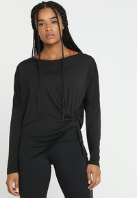 Reebok - SUPREMIUM LONG SLEEVE - Funktionsshirt - black - 0