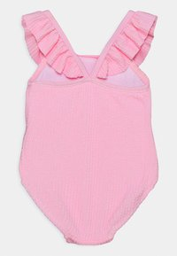 Cotton On - FRILL SWIMSUIT - Swimsuit - cali pink - 1
