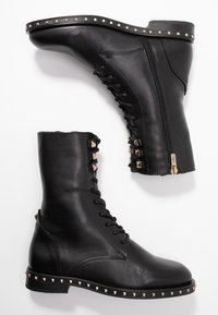 Alpe - FIRENZE - Lace-up ankle boots - black - 3