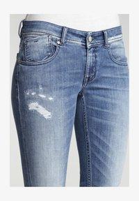 Gang - SKINNY FIT KASERIA - Jeans Skinny Fit - rivera vint destroy - 3