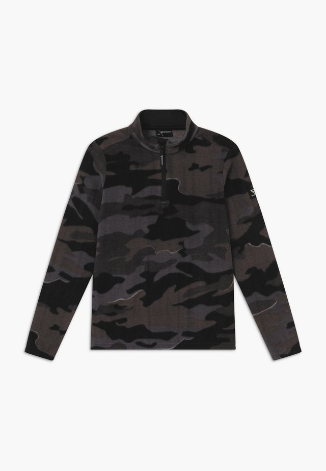 STEWART BOYS - Fleece trui - black