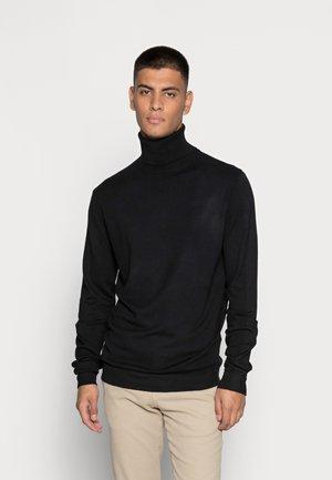 MAX - Stickad tröja - black