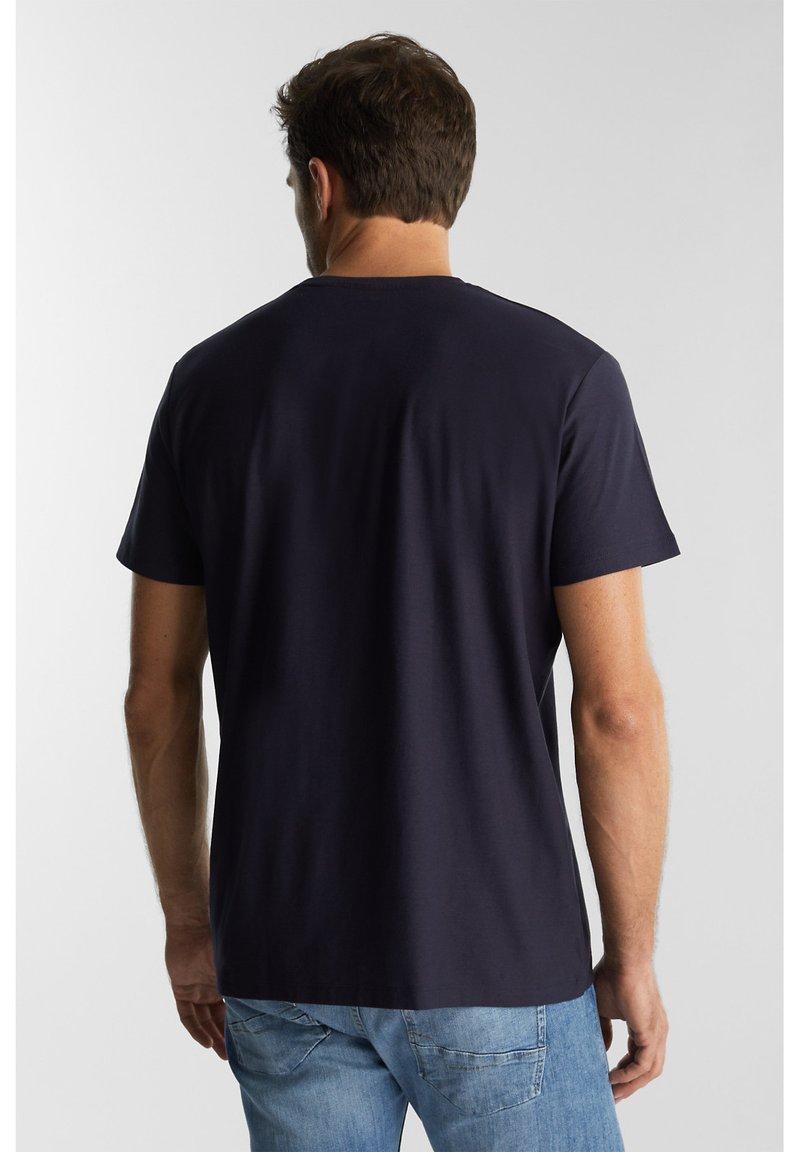 Esprit T-Shirt print - navy/dunkelblau 1kSXLK