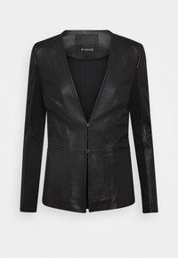 Pinko - BRADLEY JACKET - Leather jacket - black - 4