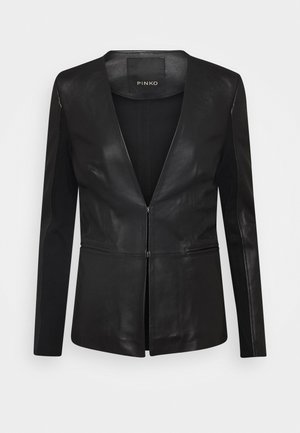 BRADLEY JACKET - Leather jacket - black
