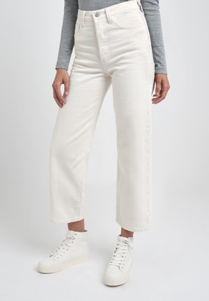 RIBCAGE - Jeans Straight Leg - cream/off-white
