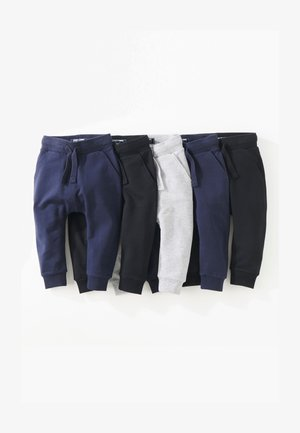 SUPER SKINNY FIVE PACK - Tracksuit bottoms - black
