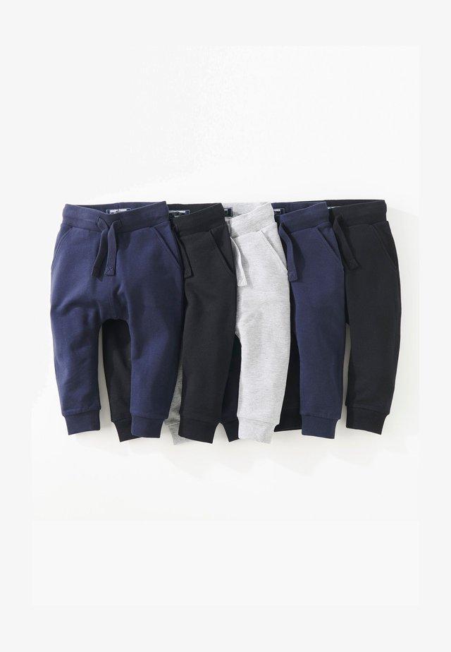SUPER SKINNY FIVE PACK - Pantalon de survêtement - black