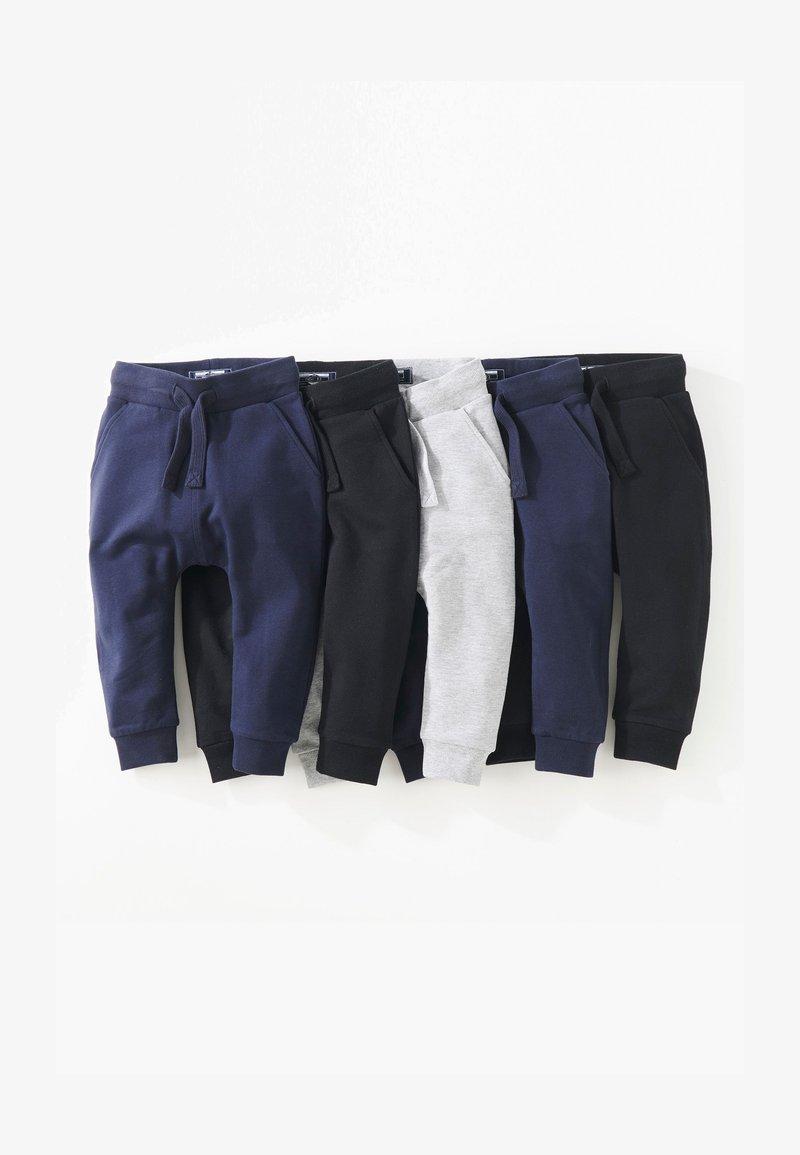 Next - SUPER SKINNY FIVE PACK - Tracksuit bottoms - black