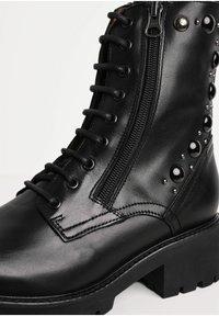 NeroGiardini - Lace-up ankle boots - nero - 5