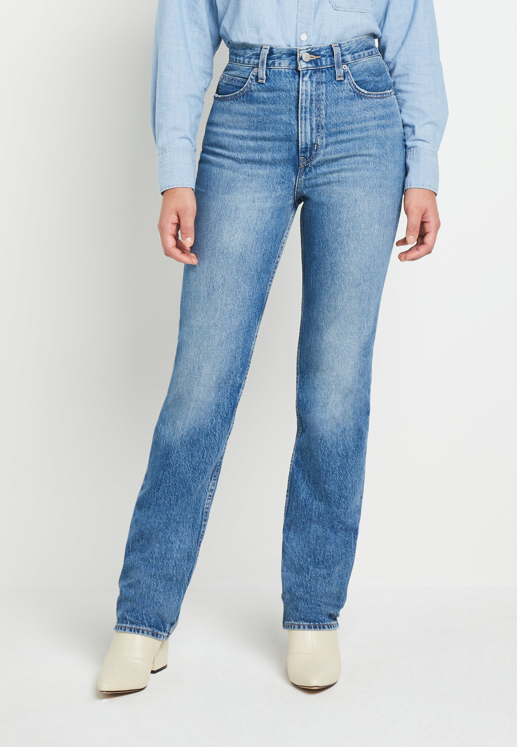 Women 70S HIGH STRAIGHT - Straight leg jeans - at the ready