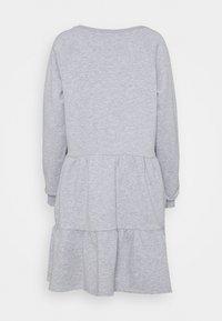 Nümph - NUNANNA DRESS - Day dress - light grey melange - 6