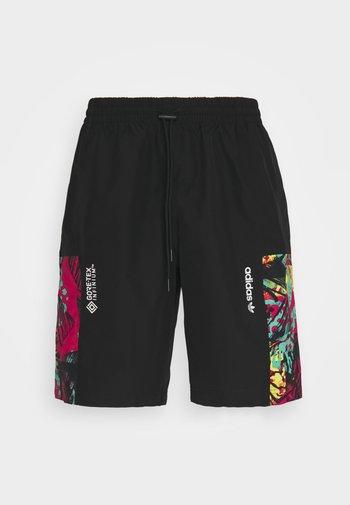 Shorts - black/multicolor