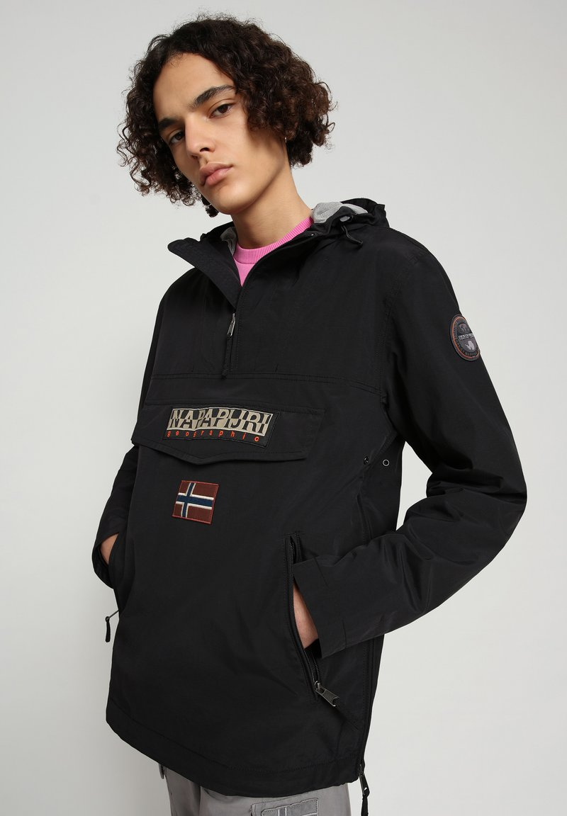 Napapijri - RAINFOREST SUMMER POCKET - Vindjacka - black