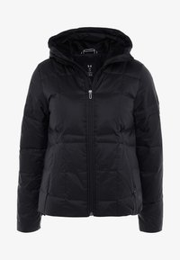Under Armour - HOODED - Down jacket - black/jet gray - 4