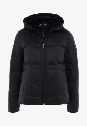 HOODED - Doudoune - black/jet gray