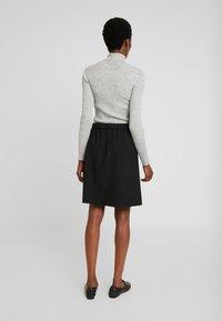 Kaffe - KAJILJA SKIRT - A-line skirt - black deep - 2