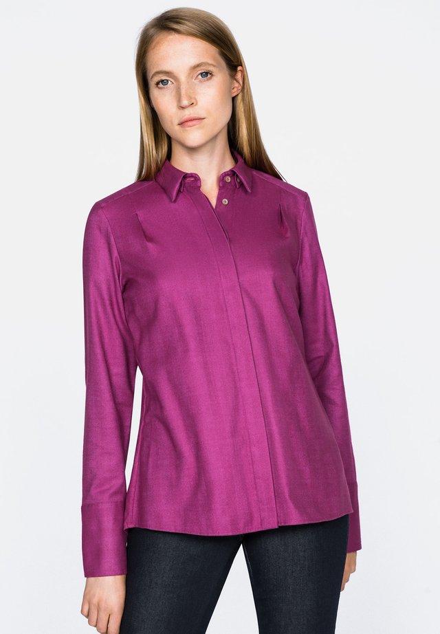 TILDA - Button-down blouse - flieder/lila