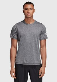 adidas Performance - FREELIFT AEROREADY TRAINING SHORT SLEEVE TEE - T-shirt basic - black - 0