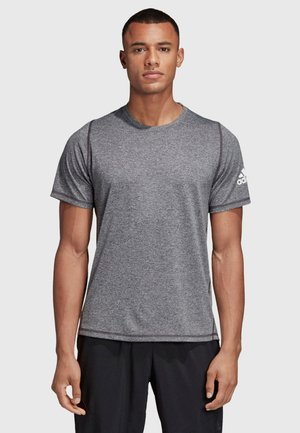 FREELIFT AEROREADY TRAINING SHORT SLEEVE TEE - Jednoduché triko - black
