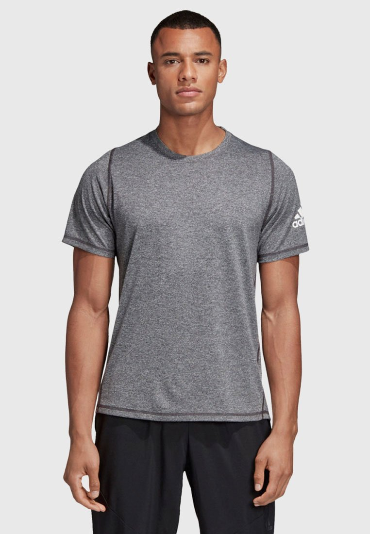 adidas Performance - FREELIFT AEROREADY TRAINING SHORT SLEEVE TEE - T-shirt basic - black