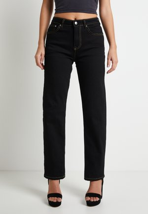 DUA LIPA X PEPE JEANS - Straight leg jeans - black