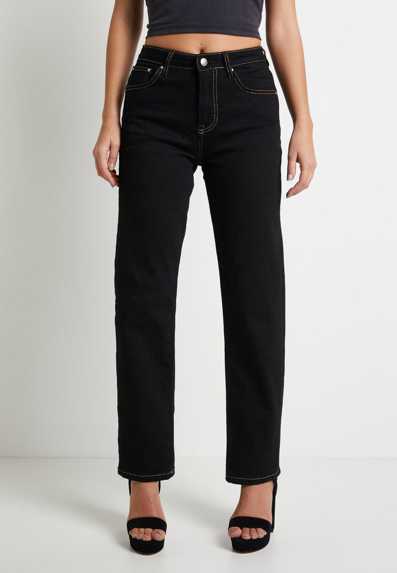 Pepe Jeans - DUA LIPA X PEPE JEANS - Straight leg jeans - black