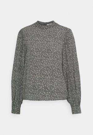 OBJLITA  - Long sleeved top - black/birch