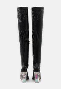 BEBO - BRIANA - Boots med høye hæler - black - 3