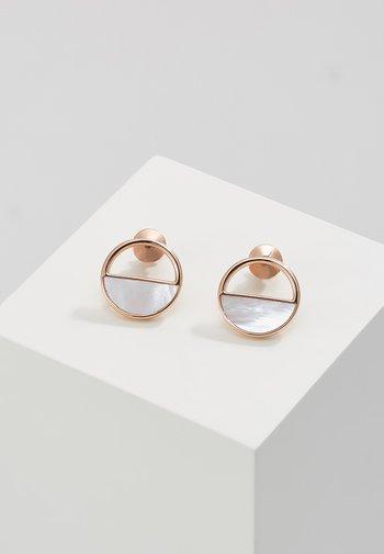 ELIN - Earrings - roségold-coloured