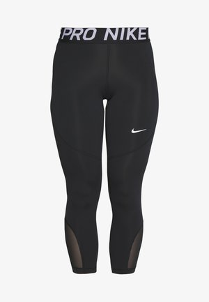 CROP - Leggings - black