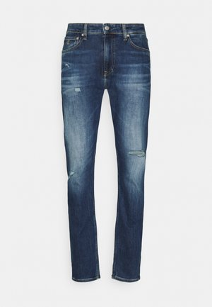 Slim fit jeans - denim dark